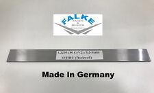 Cuchillo de acero acero para herramientas damascos 1.2235 (80 crv)/cuchillas de acero de 1000 x 36 x 3 mm