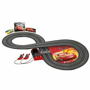 Carrera First Disney/Pixar Cars 3 Slot Car Set