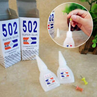 1/5Pcs Cyanoacrylate Instant Adhesive Strong Adhesion Fast Repair 502 Super Glue