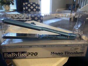 "BaByliss PRO Nano Titanium Ultra-Thin Straightening Iron 1 1/2"" Plate Width"