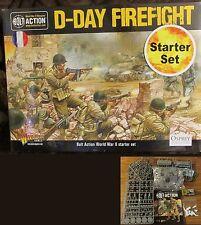 Bolt Action WGB-START-20 WWII D-Day Firefight Starter Box + 2nd Edition Book NIB