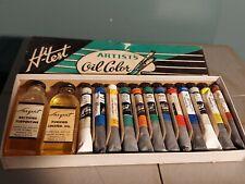 New listing Vintage Oil Colors Paint Set New Hi test