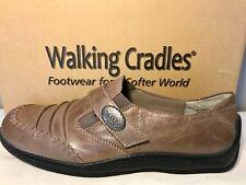 Walking Cradles Bistro Womens 9.5 M Taupe Leather Walking Shoe MSRP $110 NIB New