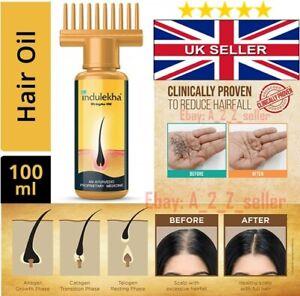 100ml Genuine Indulekha Aurvedic Herbal Hair oil STOP Hairfall hair loss growth