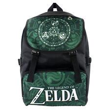 Legend of Zelda Link Backpack School bag  Shoulder bag travel bag Dard Green