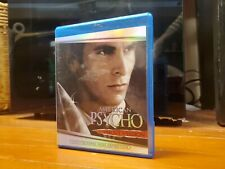 American Psycho Blu-ray 2000 psychological horror adult owned!