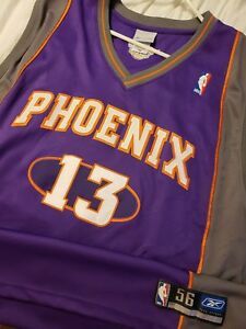 Steve Nash - Phoenix Suns Authentic Road Jersey Sz 56 2 Time NBA MVP !
