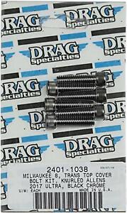 DRAG SPECIALTIES BOLT KIT M8 TRAN TOP B/C 2401-1038