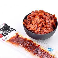 Yak Meat Spicy Strips Hot Slice 1 Packs*28g 宇仔牦牛肉辣条