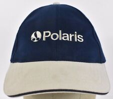 Navy Blue Polaris ATV Offroad Embroidered baseball hat cap Adjustable Strap