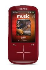 SanDisk Sansa Fuze+ 4 GB MP3 Player (Red)  SDMX20R-004G  NEW Retail Package