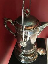 PAIRPOINT MFG CO. 1873 1/2 RARE PITCHER ON SWINGING STAND