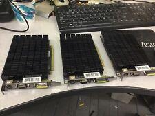 Nvidia GeForce 9400GT 512mb DDR2 PCI-E DVI PV-T94G-YHH2 Lot of 3
