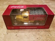 Coca Cola Coke K-Line Delivery Truck Train Accessory YellowK-94526