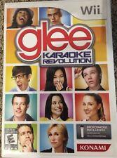 Wii - Glee Karaoke Revolution - FAST FREE SHIPPING