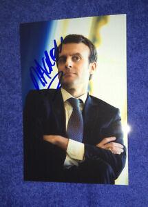 Emmanuel Macron Photo Dedicace Autograph Politique President France