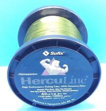 Sufix Herculine Dyneema Braided Fishing Line 40lb 1000m 1100yds Green