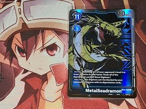 Digimon TCG MetalSeadramon AA Alt. Art BT2-030 - Rare - Booster to Sleeve