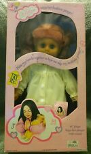 """LOVEE DOLL & TOY CO 16"""" HOPE DOLL SAYS HER PRAYER W/ MUSIC NEW OLD STOCK IN BOX!"""