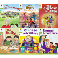Oxford Reading Tree, Level 7: More Stories A, 6 Books Collection Set (The Bully)