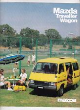 1983 MAZDA E-SERIES TRAVELLER WAGON Australian 4p Brochure E1600 8 Seater