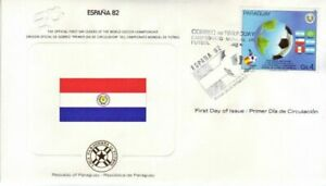 Paraguay - World Cup Soccer, Spain (WSC FDC) 1982