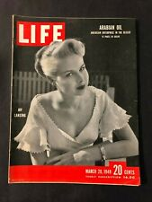 Life Magazine  March 28 1949  Joy Lansing