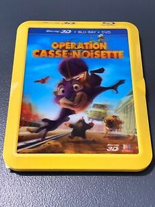 OPERATION CASSE NOISETTE BLURAY 3D COLLECTOR LENTICULAIRE