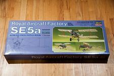 """Hasegawa S.E. 5A Royal Aircraft 1/8"""" Scale with rare Wood Prop"""