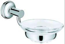 Grohe Essentials 40652 Chrom Halter für Becher Seifenschale Seifenspender
