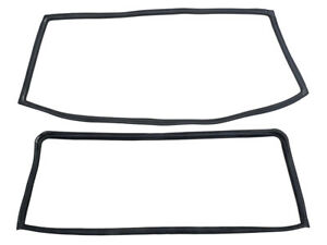 New 1962-65 Falcon Sedan Weatherstrip Windshield Back Glass Seals 64 Comet Ford