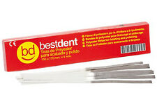 1x BESTDENT DENTAL COMPOSITE FINISH AND POLISH STRIPS 4 mm x 170 mm. 150 PIECES.