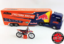 Ryan Dungey KTM Factory Racing Red Bull Motocross Course Camion + 1:18 Moto Combo