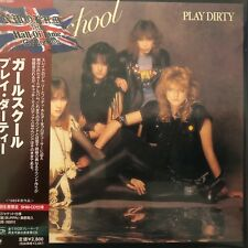 Girlschool - Play Dirty(SHM-CD mini LP sleeve),2009 UICY-93881 / Japan