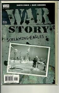 VERTIGO COMICS WAR STORY SCREAMING EAGLES! NM!