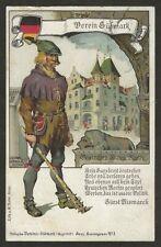 Lithografie Rann Untersteiermark, Verein Südmark, SStpl. Grazer Herbstmesse 1907