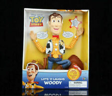 Toy Story Lots'O Laughs Woody Sheriff Cowboy Talking Pull the String Doll Toy