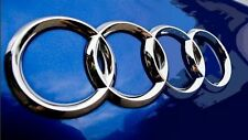 Audi Allroad Cabriolet Chrome 3D Boot Logo/Rings/Badge - All Models 180mm x 60mm