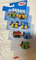 Thomas & Friends Minis Train 7 PACK Mini percy,shark cargo car ,octopus percy