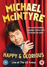 Michael Mcintyre - Happy & Glorious (DVD) *NEW & SEALED*