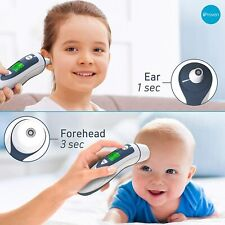 iProven Dual Mode Medical Forehead Ear Thermometer Infrared Lens Technology DMT