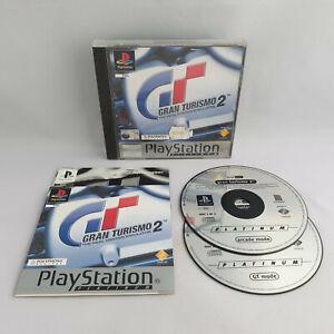 Playstation 1 PS1 - Gran Turismo 2 Real Driving Simulator (Platinum)