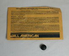All American Rubber Over Pressure Plug No 2040