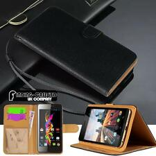 Nero Magnetica Flip Cover Stand Portafoglio Pelle Custodia Per Vari Telefoni Archos