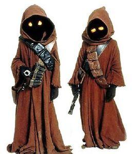 STAR WARS Jawa Costume Eyes Orange w/ on/off switch cosplay (eyes only)