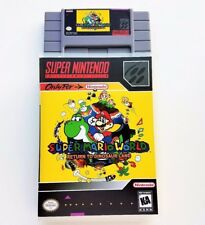 Super Mario World Return to Dinosaur Land w/ Box Case - English - SNES Nintendo