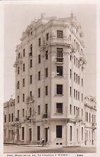 PERU' - Lima - Edif. Risso en la Av. la Colmena y Wilson - Photo Postcard 1941