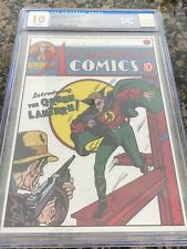 All American Comics #16 Pure Silver Foil (35g) CGC 10 First Release 1st Lantern