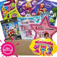 GIRLS TOY GIFT BUNDLE inc LOL Surprise, Twisty Petz, Miximals, Disney Blind Bags