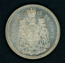 1962 Canada 50 Cents - Nice Silver Half Dollar